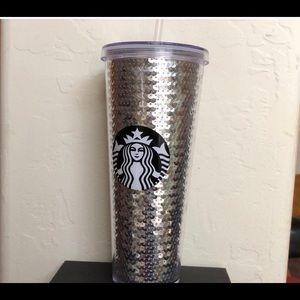 Sequined Starbucks Tumbler